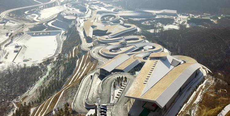 高空视角欣赏2022年冬奥会延庆赛区