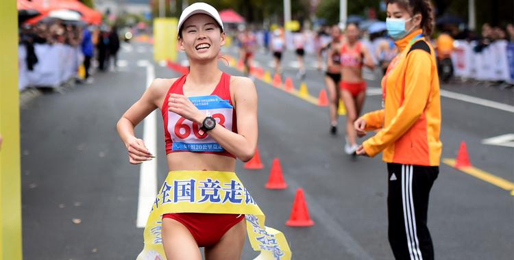 全國競走錦標賽:楊家玉、劉虹打破女子20公里競走世界紀錄